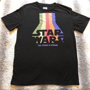 🛸 Star Wars The Force Is Strong Tee Men's Large